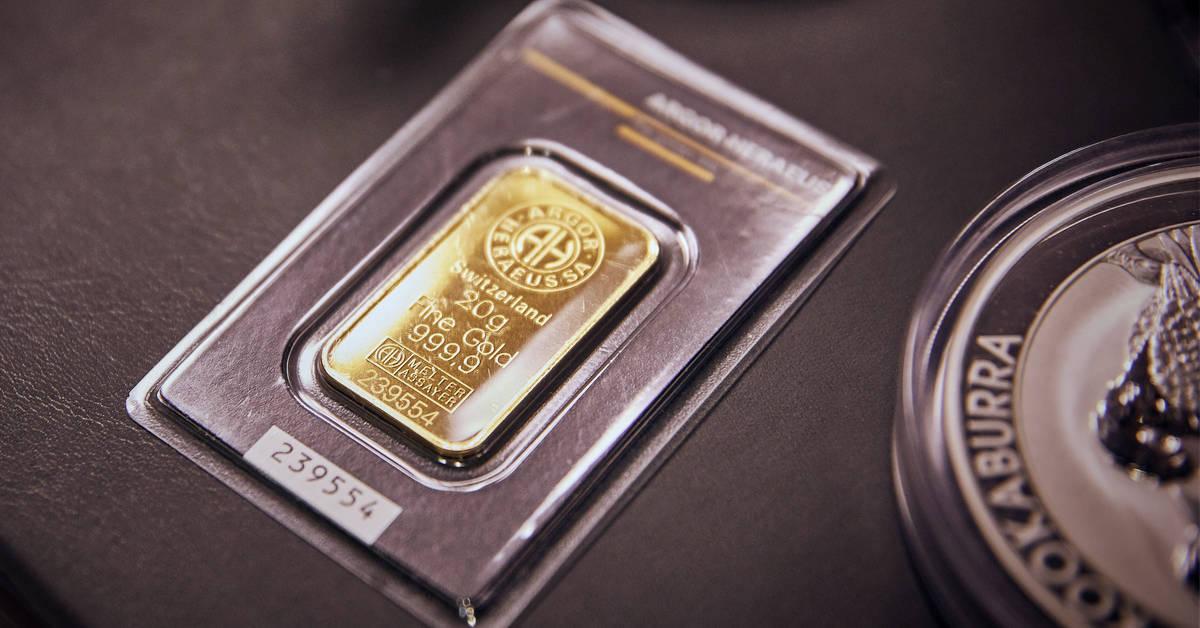Gold- und Silberhandel